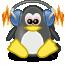 Logo Linux musical