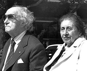 Joaquín Rodrigo y Victoria Kamhi