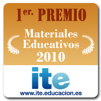 Primer Premio Materiales Educativos ITE 2010