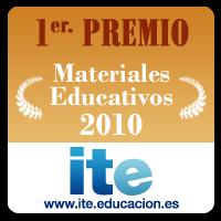 Primer Premio a Materiales Educativo 2010