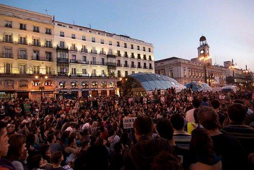 Manifestación de Democracia Real Ya en Madrid el 15 de mayo de 2011