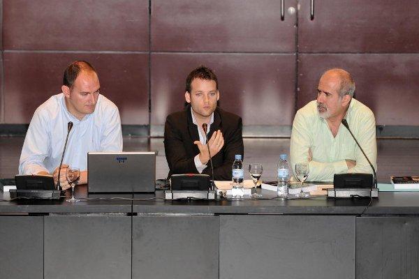 José Hernández, Diego Sobrino y Massimo Pennesi