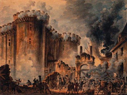 Jean-Pierre Houël. Prise de la Bastille