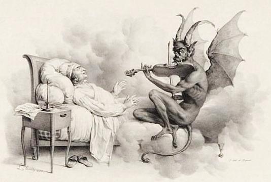 El sueño de Tartini, de Louis-Léopold Boilly