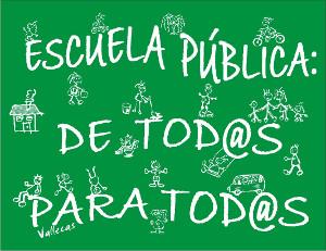 Escuela pública de tod@s y para tod@s