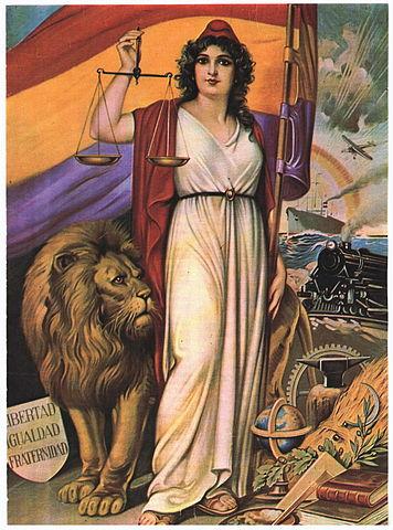 Alegoría de la República Española