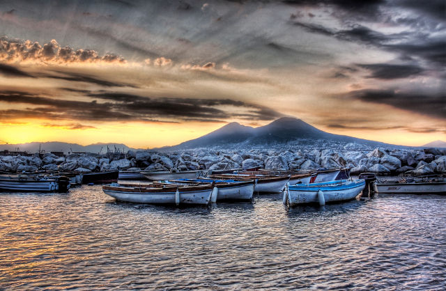 The Boats of Vesuvius, CC Trey Ratcliff