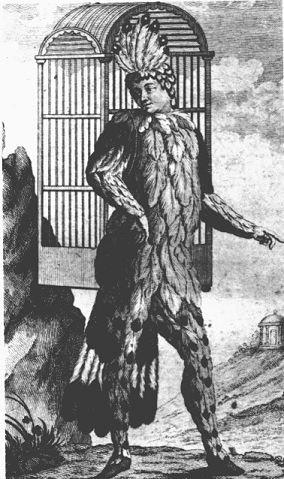 Emanuel Schikaneder en el rol de Papageno