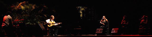 Paco de Lucía en concierto en Málaga