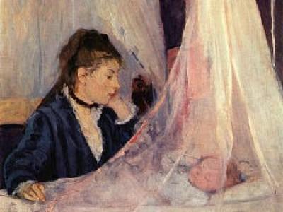 Berthe Morisot: Le berceau (La cuna). Musée d'Orsay (PD)