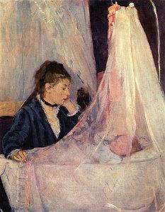 Berthe Morisot: Le berceau (La cuna). Musée d'Orsay